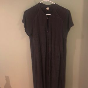 Anthropologie dress, Gray